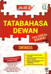 Tatabahasa Dewan Edisi Sekolah Menengah Jilid 3: Sintaksis