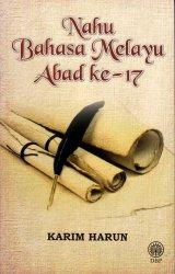 Nahu Bahasa Melayu Abad ke-17