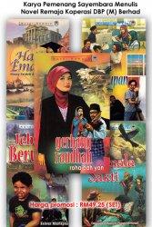 Set Novel Remaja (Gemala Sakti, Jebak Berua, Gerbang Raudhah, Cerita Kehidupan, Hati Emas)