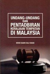 Undang-Undang dan Pentadbiran Kerajaan Tempatan di Malaysia