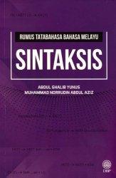Rumus Tatabahasa Bahasa Melayu: Sintaksis